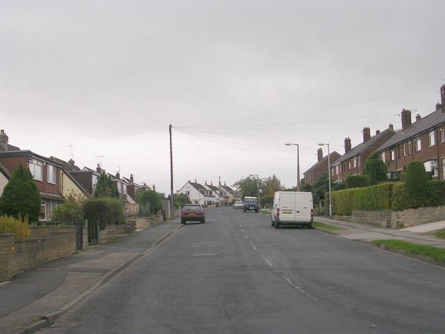 Woodside Road - viewed from Dradishaw Road