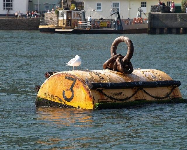 Mooring buoy, Dartmouth