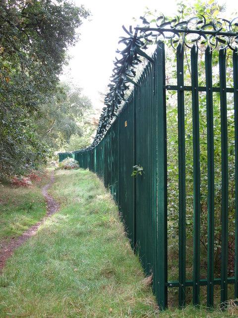 Security Fence for BT Transmitter