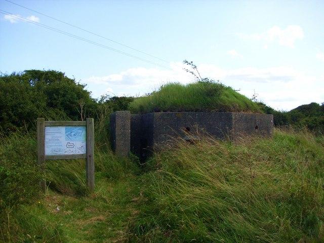WW2 Pillbox, Kilnsea