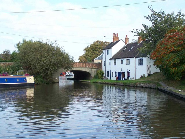 Road Bridge Over The Trent and Mersey Canal, Shardlow