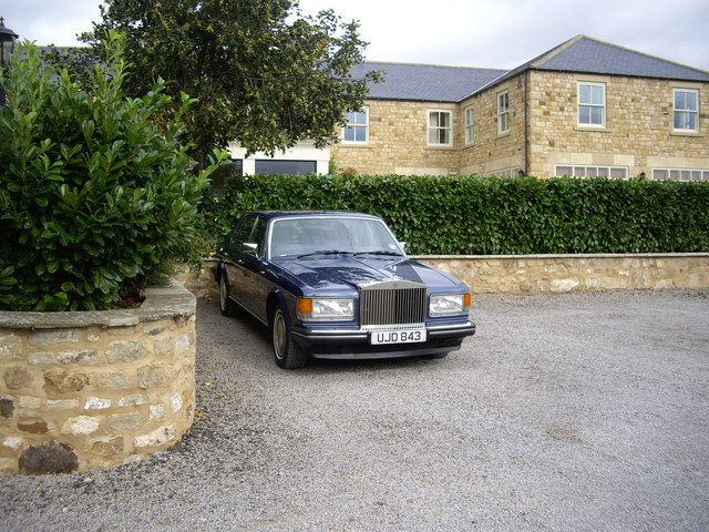 Headlam Hall Hotel car park