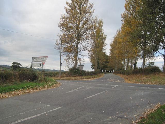 Woodlands Cross roads