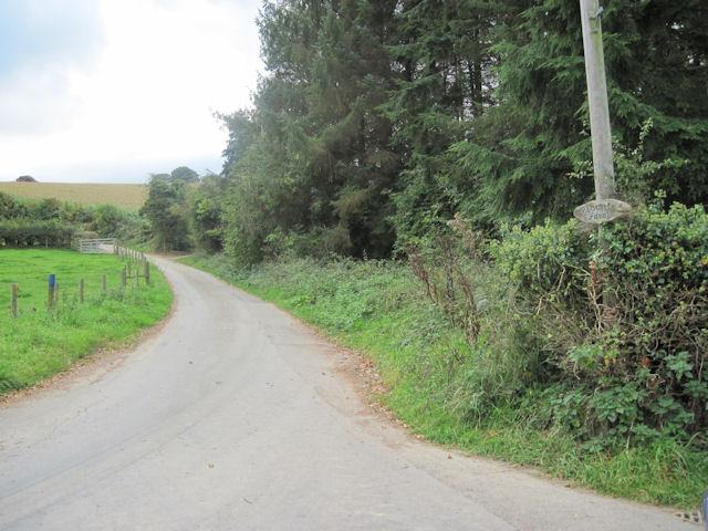 Road to Mount Farm