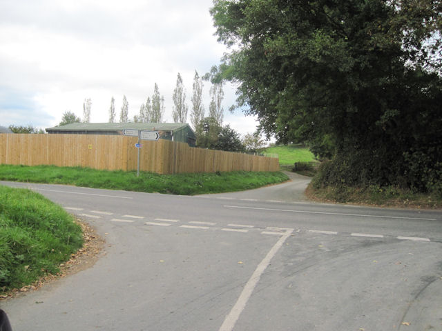 Crossroads at Cross Lane Farm