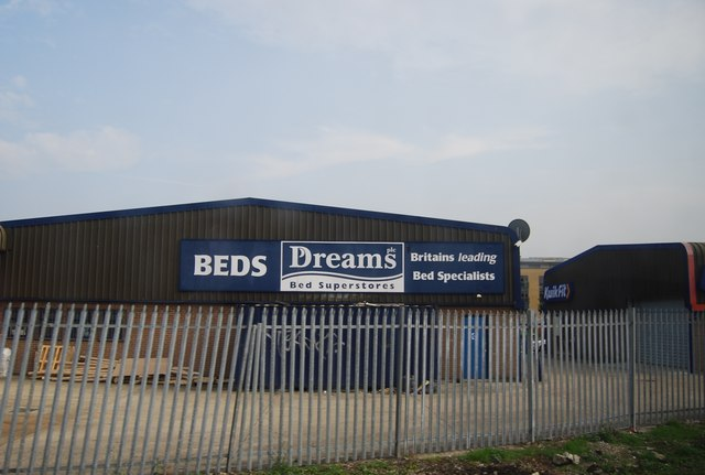 Dreams, Bed Superstore, Retail park near Maidstone West Station