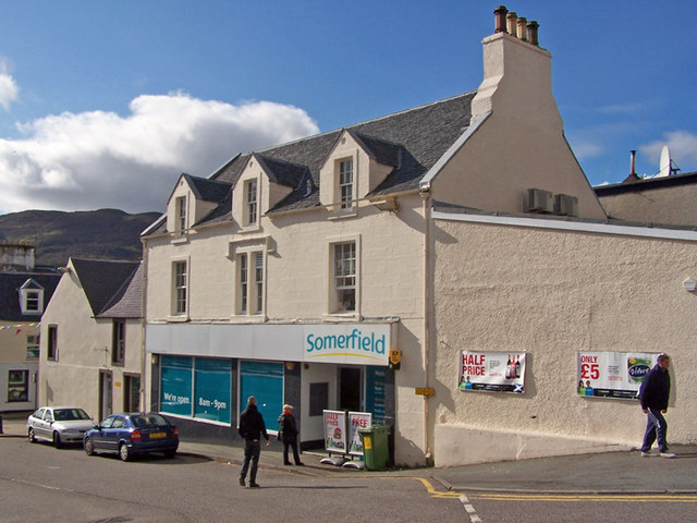 Somerfield Supermarket, Portree