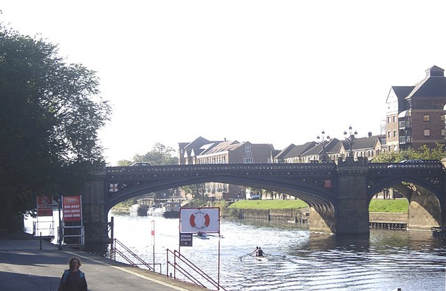 Skeldergate Bridge from Kings Staith