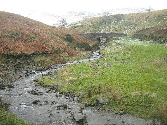 Fairmile Beck and Bridge