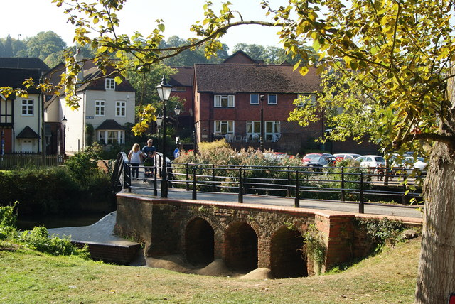 Bridge Over the River Wey, Guildford, Surrey (1)