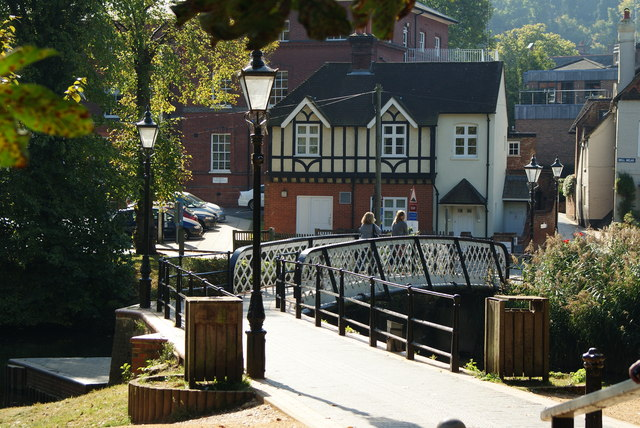 Bridge Over the River Wey, Guildford, Surrey (2)