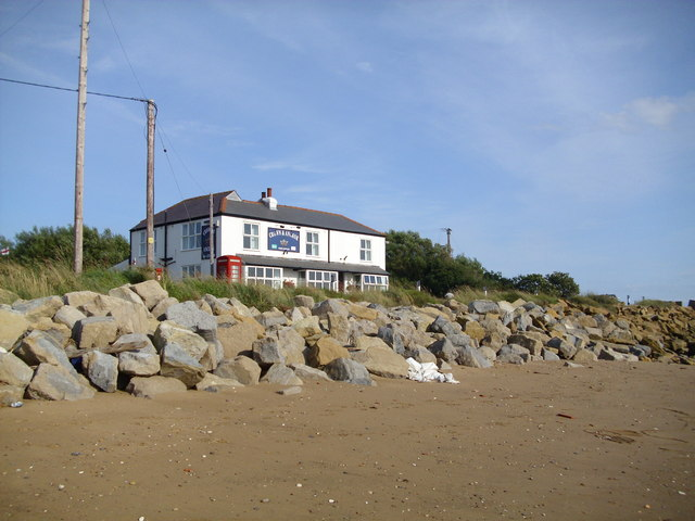 The Crown and Anchor at Kilnsea