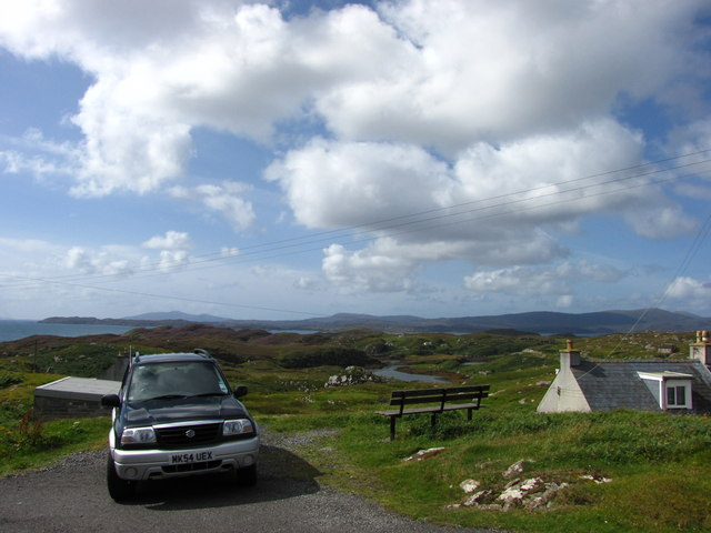 Viewpoint and Seat on Scalpay