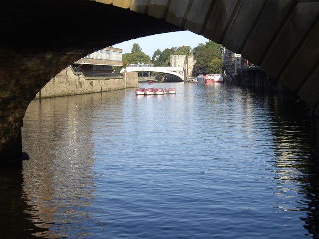 View to Lendal Bridge