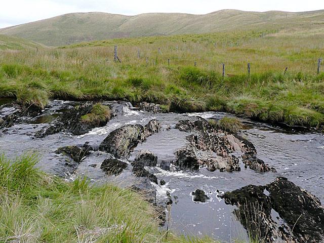 Afon Camddwr near Maesglas, Ceredigion