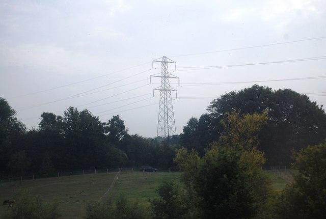 Electricity Pylon, Medway Valley