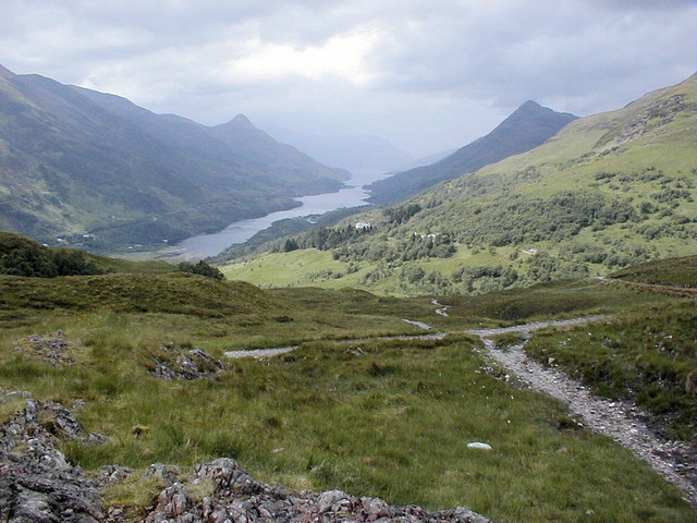 Track to Mamore Lodge
