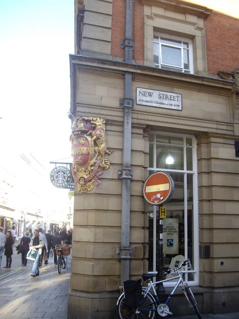 New Street corner