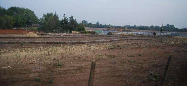 The former GSK works, Yalding
