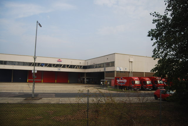 Warburton's Distribution Warehouse, Paddock Wood