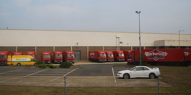 Warburton's Distribution Warehouse, Paddock Wood