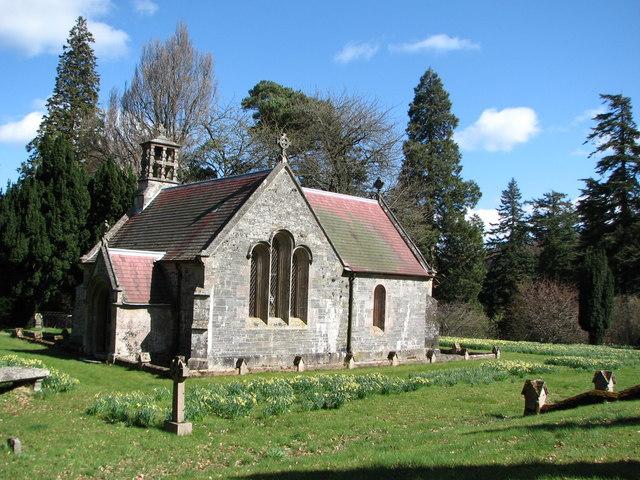 Chapel at Dawyck Botanical Garden