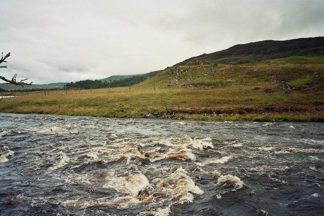 River Gaur after hard rain