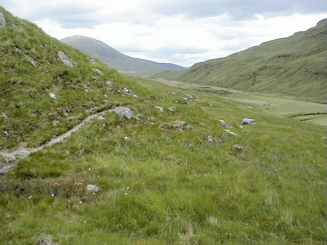 Path to Meanach Bothy