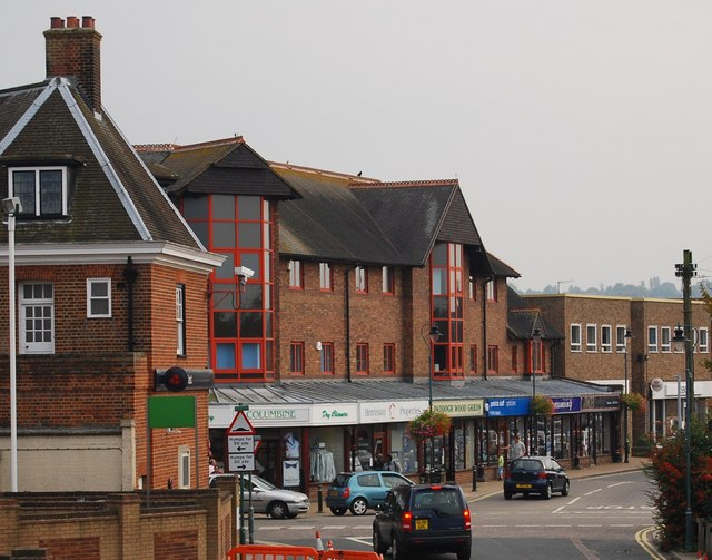 Shops, junction of Commercial Rd & Station Rd, Paddock Wood