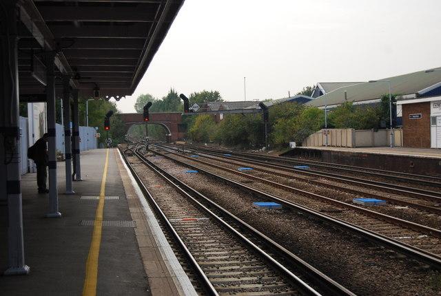 Platform1, Paddock Wood Station