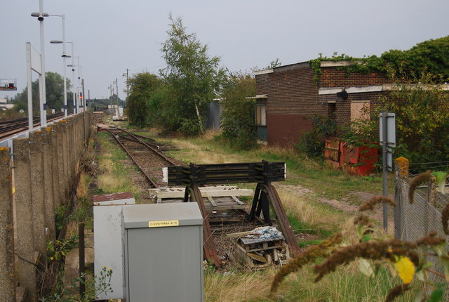 Railway siding, Paddock Wood Station