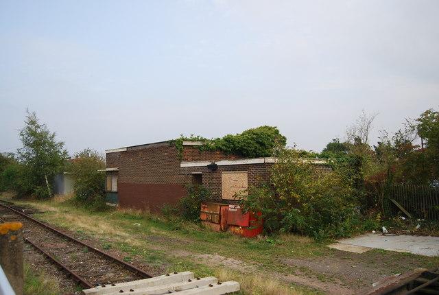 Derelict railwayn building, Paddock Wood