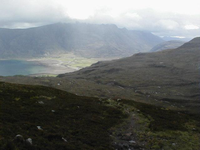 Torridon from Meall Gorm