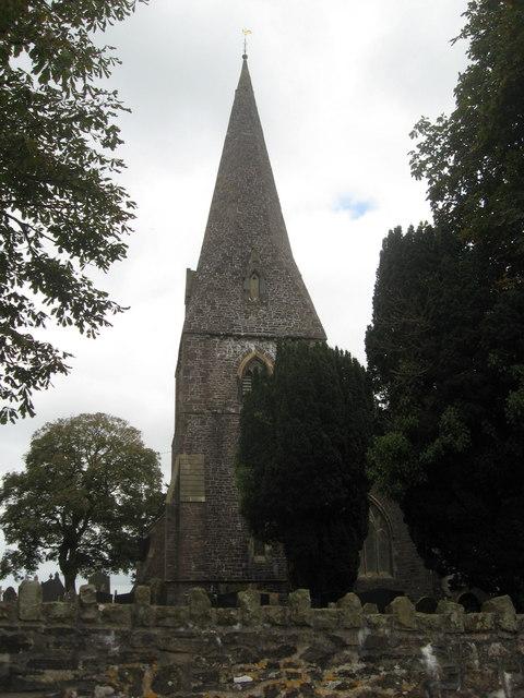Llanddarog church
