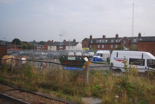 Network Rail Depot, Tonbridge Station