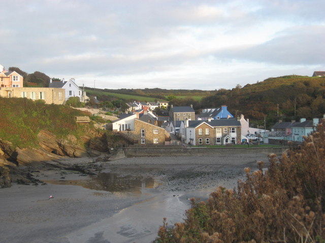 Harbourside Houses and Village Green at Little Haven