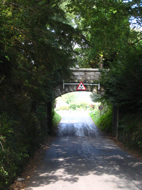 Railway bridge at  Venland Cross