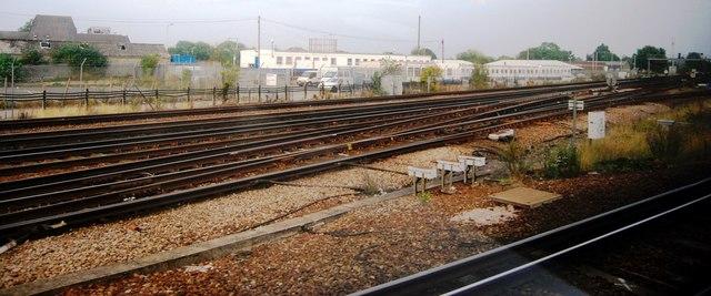 The London to Dover line, Tonbridge
