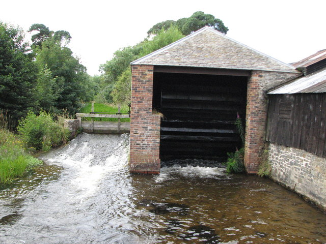 The old waterwheel