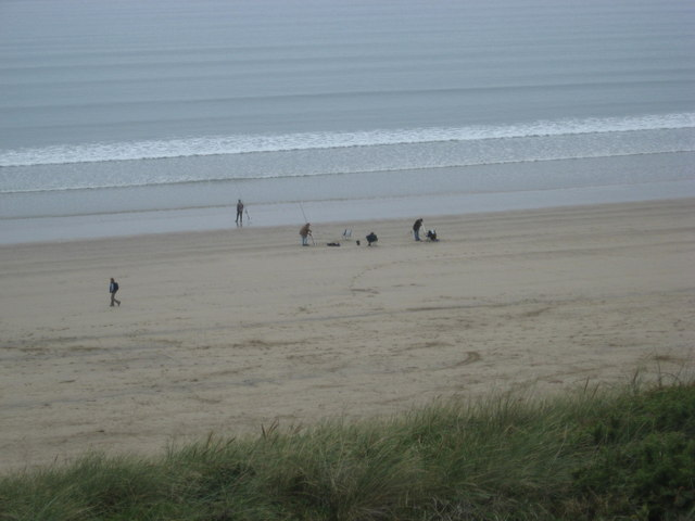 Newgale Sands from the Clifftop Road