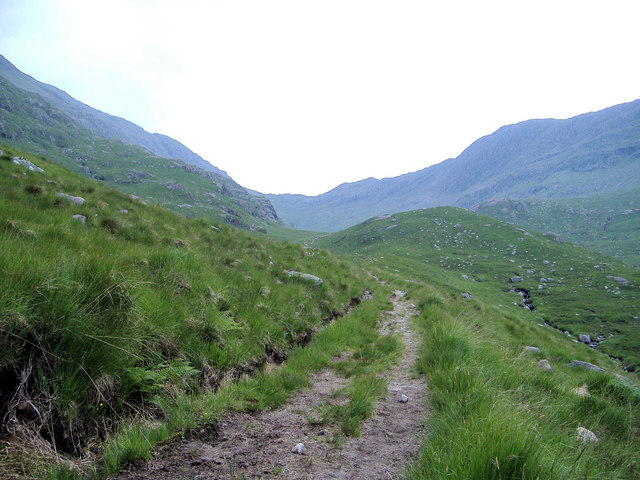 Footpath to Mam Meadail