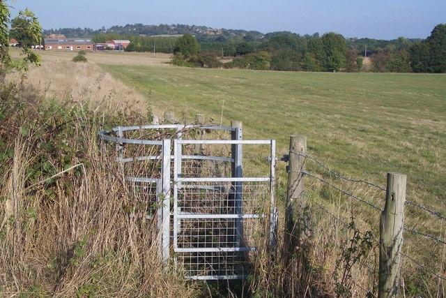 Kissing Gate near Spelmonden