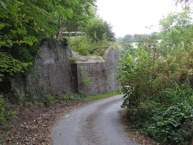 Old Railway Bridge Abutment