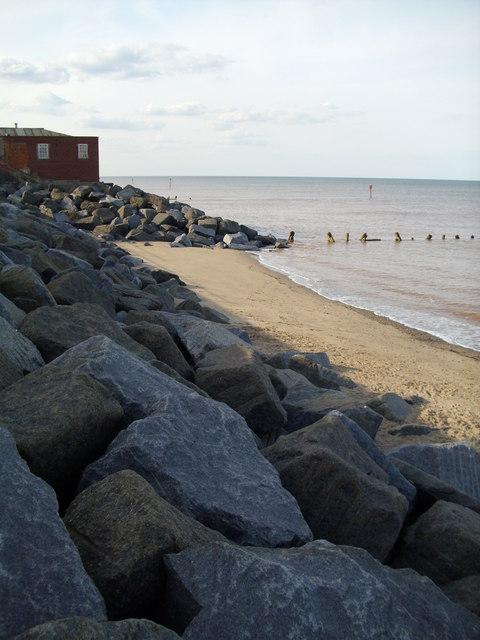Sea defences, Withernsea
