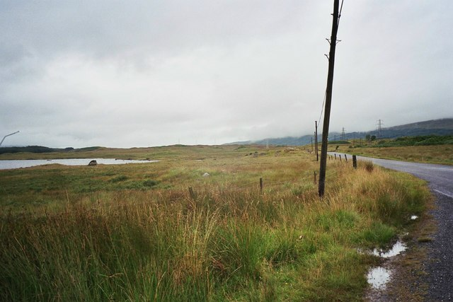 Road to Rannoch Station