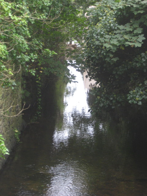Mill stream behind the cathedral