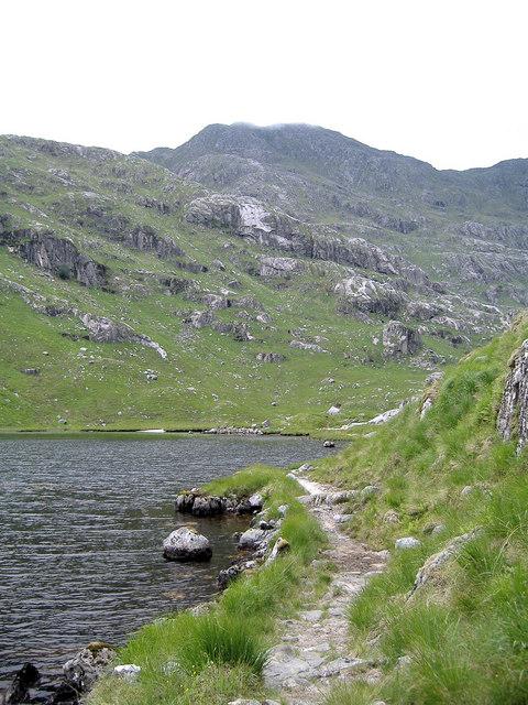 Footpath Lochan a' Mhaim