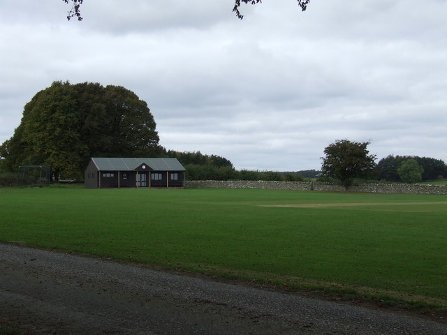 Chedworth Cricket field and Pavilion
