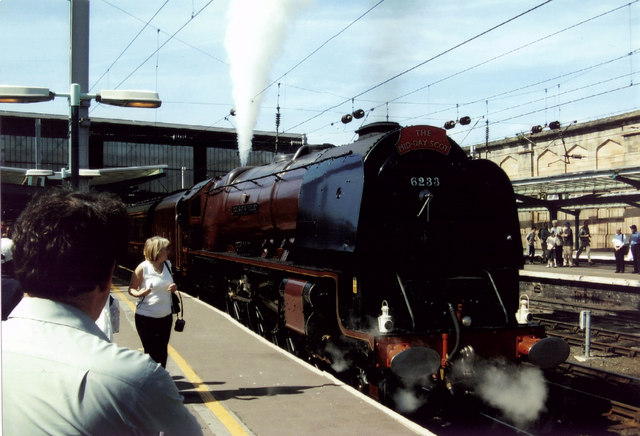 6233 Duchess of Sutherland at Carlisle