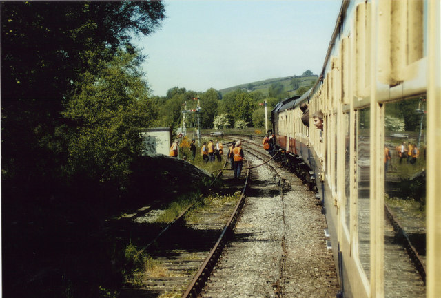 Water stop on the Cumbrian Mountain Express